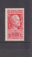 ITALIAN EAST AFRICA-1938-20c RED-MNH-SG 6-$3-freepost