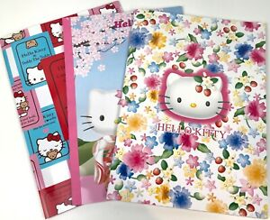 RARE Sanrio Hello Kitty Lot Of 3 x Large Letter Memo Note Pads~BNIP~NEW~2000-03