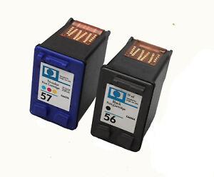 2 für Druckerpatronen XL für HP 56 & 57 PSC 1315 V PSC 1315S 1315V 1315XI 1317 1