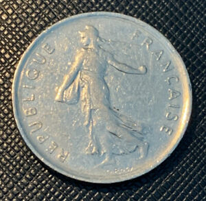Francs, Coin, 1973