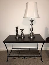 Longaberger Very Rare Lamp And Candle Holders Brand New