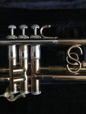 Original Vintage SELMER SIGNET Trumpet With S Brace , Microtuner Orig Case, Lyre