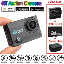 SJ9000 Wifi 4K 30FPS HD Sports Action Video Camera DVR+Battery+ 32GB+ Carry F1