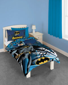 Official DC Comics Batman Dark Knight Single Duvet Cover & Pillow Case Set