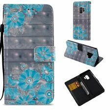 For Samsung Galaxy S9/ S9+ Plus Flip PU Leather Wallet Case Card Stand Cover