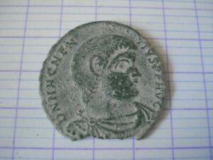 Monnaie Antique Romaine  .MAGNENCE..ROMAN COIN ..frappe médaille..2.7 cm