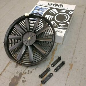 1951 Cadillac Series 62 14 Inch Performance Radiator Fan 12v cooling electric