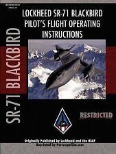 Sr-71 Blackbird Pilot's Flight Manual by Periscope Film.Com (2007, Paperback)