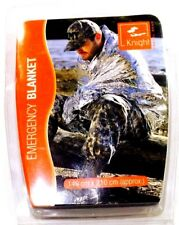 NEW Knight Survival Rescue Foil Waterproof Emergency Blanket Thermal Camping .