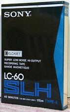SONY LC-60 SLH Elcaset Blank Tape 60 minute   BRAND NEW & SEALED  ELCASET TAPE