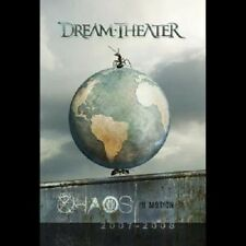 "Dream Theater ""caos in Motion"" 2 DVD NUOVO"