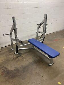 Hammer Strength flat olympic bench