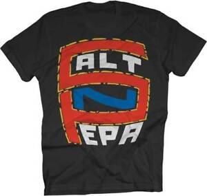 Salt-N-Pepa S-N-P Logo Hip Hop Rap Funk Dance Pop 80s NYC Music T Shirt 13268