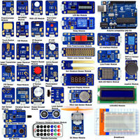 Adeept Ultimate Sensor Modules Kit for Arduino UNO R3 with Guidebook Processing