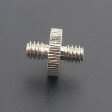 2X 1/4'' to 1/4'' Male Threaded Screw Adapter for Camera Tripod Monopod Ballhead