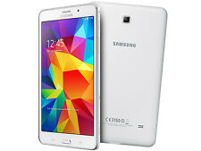 "Samsung Galaxy Tab 4 SM-T337T 16GB 8"" Wi-Fi+4G T-Mobile White Excellent Tablet"