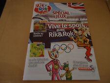MAGAZINE - LE MAG RIK&ROK - pour les 5-10 ans - N°76 - juillet aout  2012