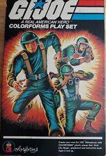Vintage GI Joe, Colorforms Play Set 1982