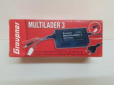 Graupner 6407 – Ladegerät Multilader3 JST/TX/RXBEC NiMH 120-240V AC