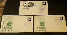 Korea FDC 283 (Postal Week) x 3 Envelopes
