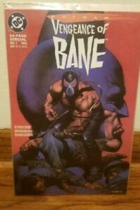 Batman Vengeance of Bane Special #1 💥 NM 9.0+💥 1st Appearance! DC Comic 1993