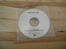 CD Punk Gang Of Four - To Hell With Poverty (2 Song) Promo V2 REC / +Insert