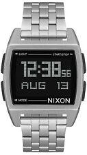 Reloj Hombre Nixon The Base A1107000 de Acero inoxidable Plateado