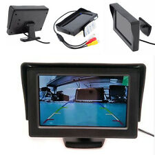 4.3 Inch 480 x 272 2-CH Video Input Color LCD TFT DVD VCD Car RearView Monitor