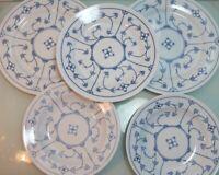 Speiseteller Suppenteller Kahla Blau Saks Indisch blau Strohblumenmuster (RST)