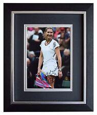 Steffi Graf SIGNED 10x8 FRAMED Photo Autograph Display Tennis Sport AFTAL & COA