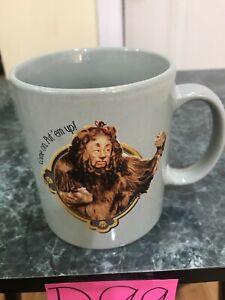 COME ON PUT 'EM UP Coffee Mug, The Lion Wizard Of OZ Mug B99