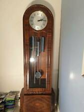A NEAR PERFECT 1930s ENGLISH ENFIELD GRANDFATHER LONGCASE CLOCK