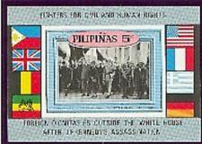 PHILIPPINES-CH DE GAULLE-1 bloc neuf non dentelé