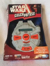 New Disney Star Wars Catch Phrase Electronic Handheld Game Hasbro Games