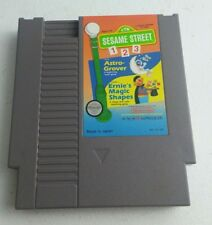Sesame Street 123 NES Nintendo Tested And Working Very Good