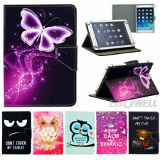 USA For Onn 8 inch Tablet Universal Pattern Adjustable Leather Stand Case Cover