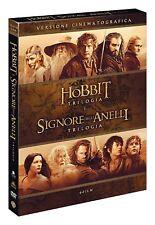 IL SIGNORE DEGLI ANELLI / LO HOBBIT - VERSIONE CINEMATOGRAFICA (6 DVD) COF.UNICO