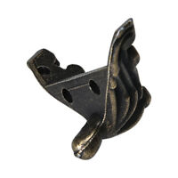 4Pcs Jewelry Chest Gift Box Wood-Case Decorative Feet Leg Corner Protector Guard