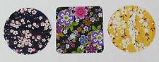 Japón Sakura Flores Pegatinas ~ 18 Pegatinas por juego ~ 3 Diseños ~ Círculos Cuadrado