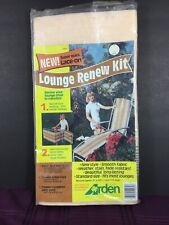 Lace On Lounge Renew Kit Arden Corp Brown Beige  Stripes 11 Foot Long No Cord