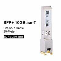 SFP+10GBASE-T Transceiver Copper RJ45 Module Compatible Cisco SFP-10G-T-S, Re...