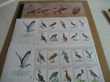 SOUTH AFRICA   2005  WATERBIRDS OF SOUTH AFRICA  BOOKLET
