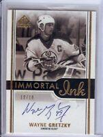 Wayne Gretzky 2016-17 SP Authentic Immortal Inks Auto Autograph Oilers #II-WG