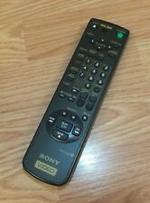 Genuine Sony (RMT-V203) Video Remote Control With Battery Cover **READ**