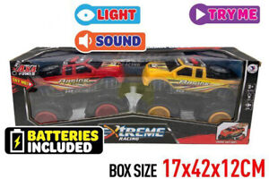 XTReme Pull Back Sporting Trucks 19 cm with light & sound kids Toy Gift AU Post