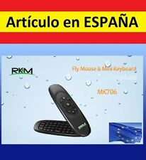 FLYMOUSE mini TECLADO RATON inalambrico wireless Rikomagic MK706 Android pc air