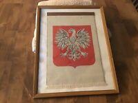 Vintage Polish Flag