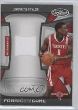 2009-10 Certified Fabric of the Game /250 Jermaine Taylor #FOG-JT.3 Rookie
