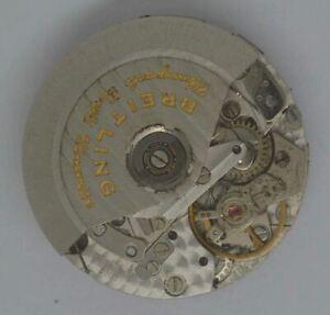 BREITLING Chronograph Movement. Cal: ETA 7750. S/N: 250013. For Parts Or Repairs
