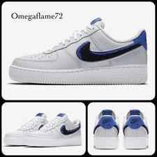 Nike Air Force 1 '07, AF1, UK 9.5, EU 44.5, US 10.5, BQ2719-001, Chenille Swoosh